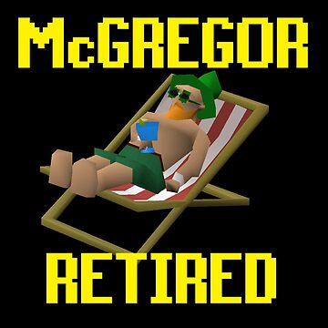 Retired McGregor!  by pinkbutter