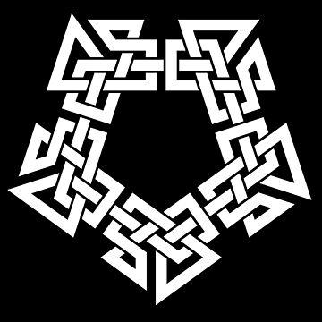 Celtic/Norse Pentagram by Thel0n