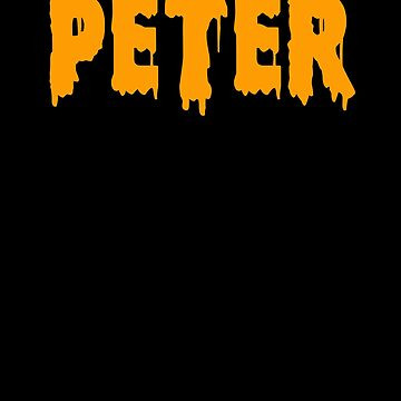 Peter Shirt Text Name Boys Men by hlcaldwell