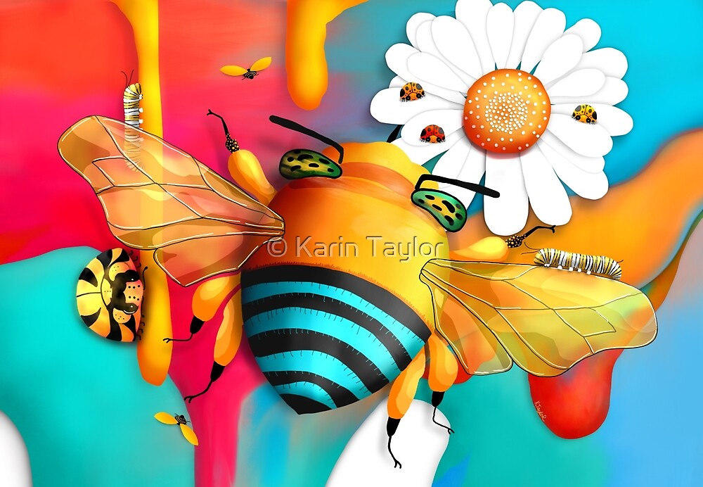 Bee Happy by Karin Taylor
