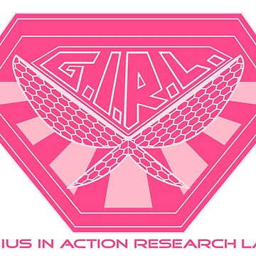 G.I.R.L. Genius in Action Research Labs - Pink (Unstoppable Wasp) by PissAndVinegar