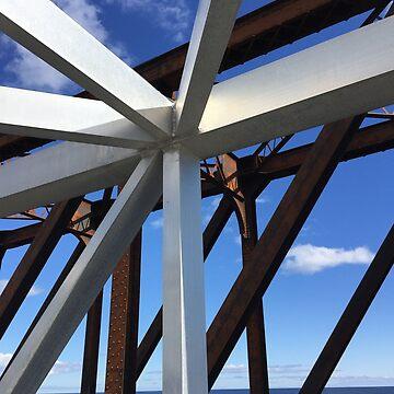Bridges Collide  by Speckle