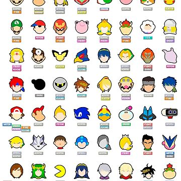 Super Smash Bros. Ultimate (Everyone is Here! design) by moeyumi