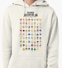 Super Smash Bros. Ultimate (Everyone is Here! design) Pullover Hoodie