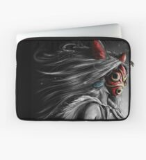 Mononoke Wolf Anime Tra Digital Painting Laptop Sleeve