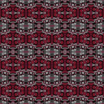 Black red ornament by fuzzyfox