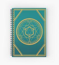Cuaderno de espiral DnD Arcane Runes