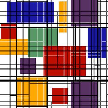 Multi-colored retro by fuzzyfox