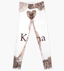 Personalised Name Art Design - Kangaroo Leggings