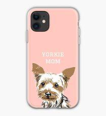 yorkie mom iPhone Case