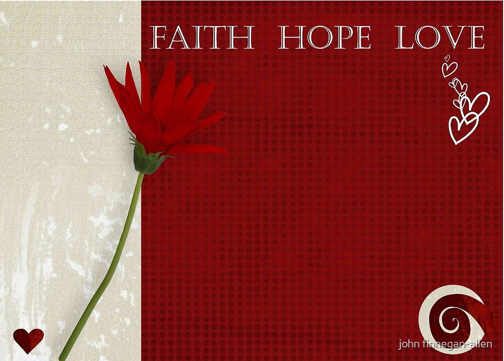 faith hope love by john finnegan-allen