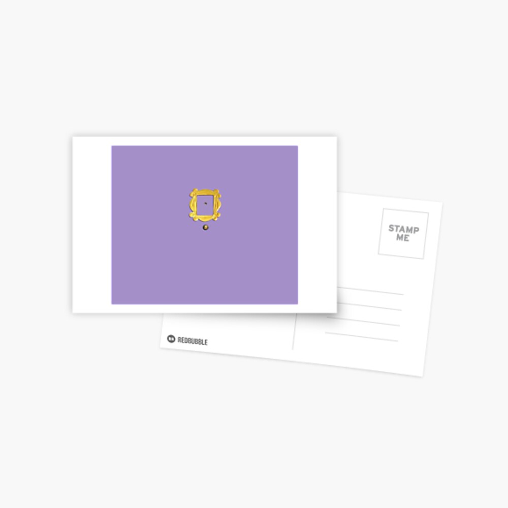 Purpel Windows Postkarte