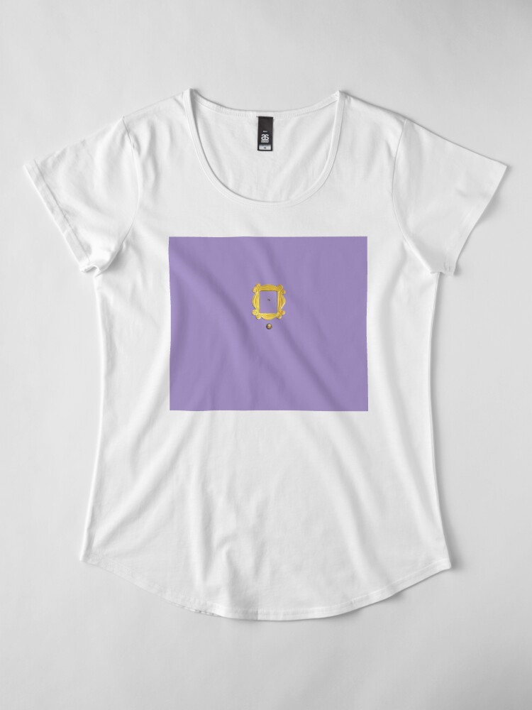 Alternative Ansicht von Purpel Windows Premium Rundhals-Shirt