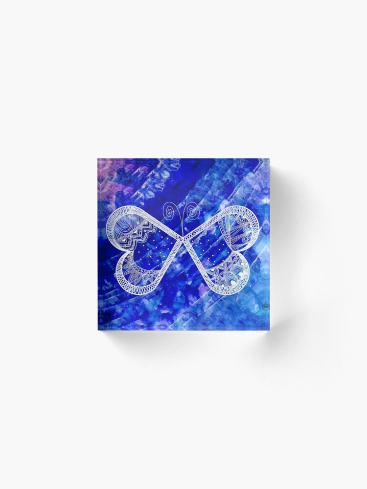 Alternate view of The Butterfly Effect  Acrylic Block