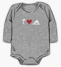 I Heart Space Mountain (Classic Logo) (Inverted) Kids Clothes