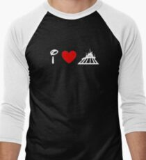 I Heart Space Mountain (Classic Logo) (Inverted) T-Shirt