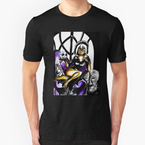 SolForce- Lori Mistress Variant Slim Fit T-Shirt