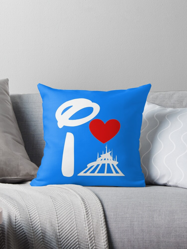 I Heart Space Mountain (Inverted) by ShopGirl91706