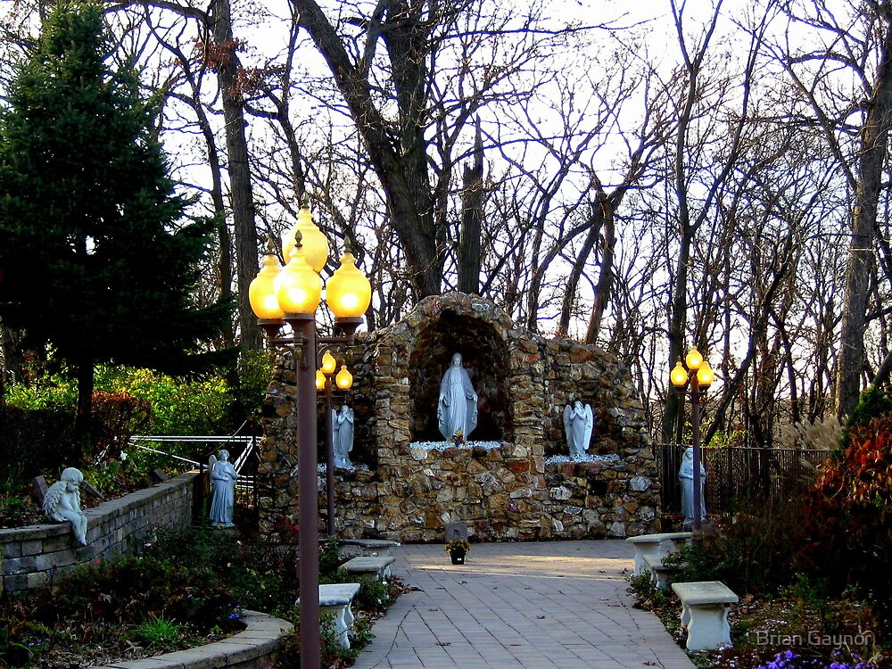 Our Lady of the Forest Grotto by Brian Gaynor