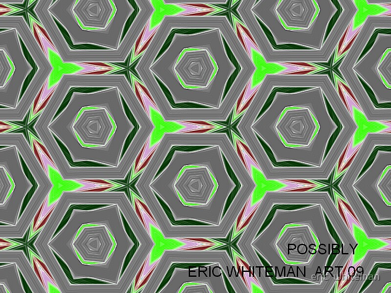 ( POSSIBLY )  ERIC WHITEMAN  ART  by eric  whiteman