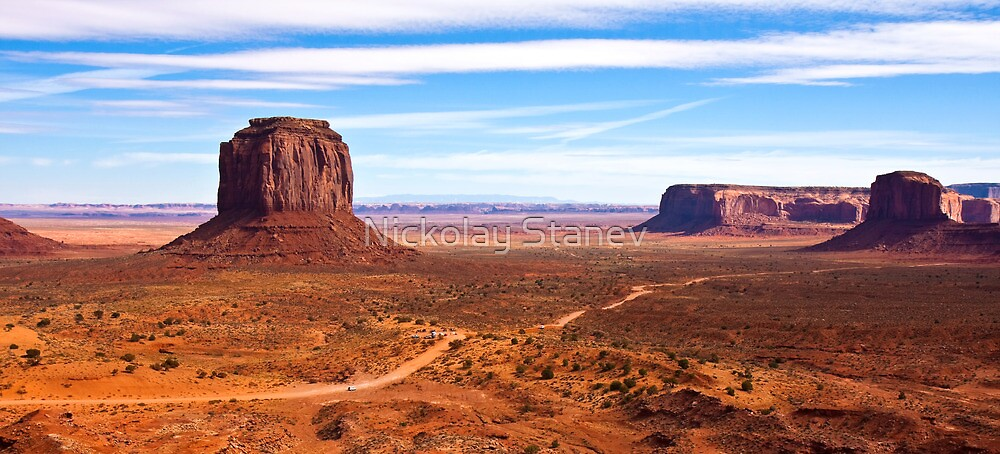 Merrick Butte Panorama by Nickolay Stanev