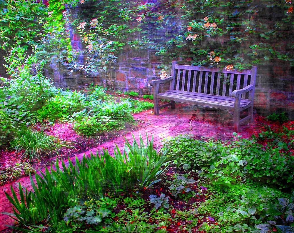 Early spring flower garden..... by DaveHrusecky