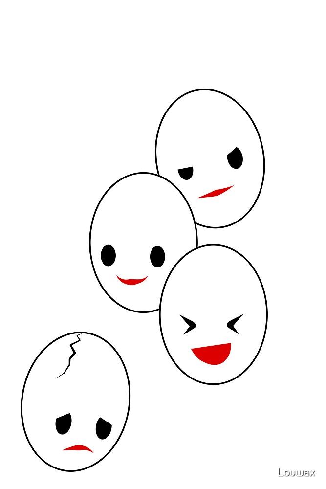 Sad Egg by Louwax