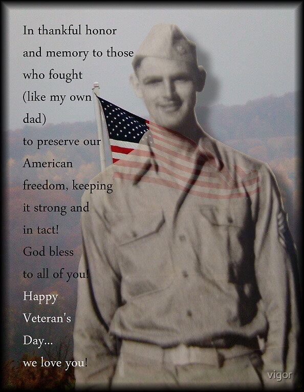 In Honor of Our Vets by vigor