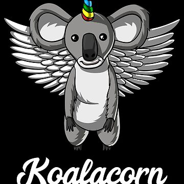Koalacorn Koala Bear Unicorn Magical Funny by underheaven