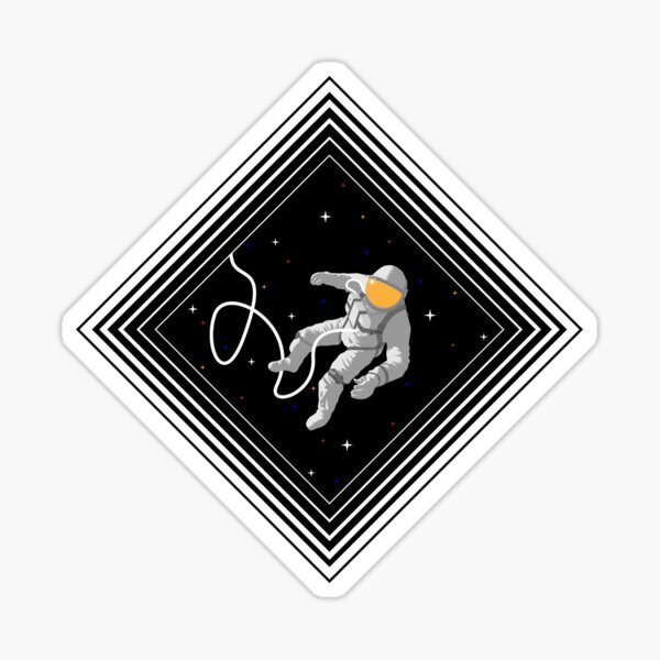 Spacewalk Sticker