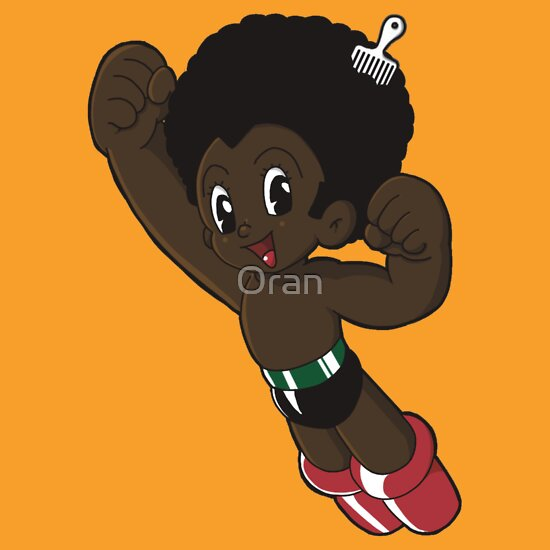 TShirtGifter presents: Afro Boy