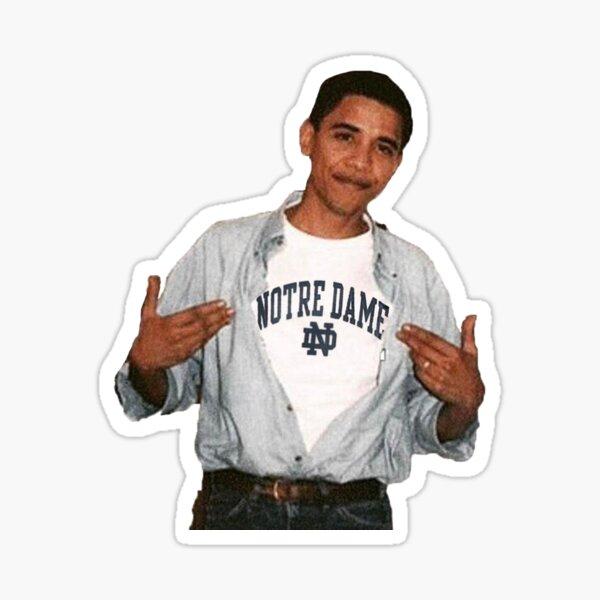 Notre Dame Obama Sticker