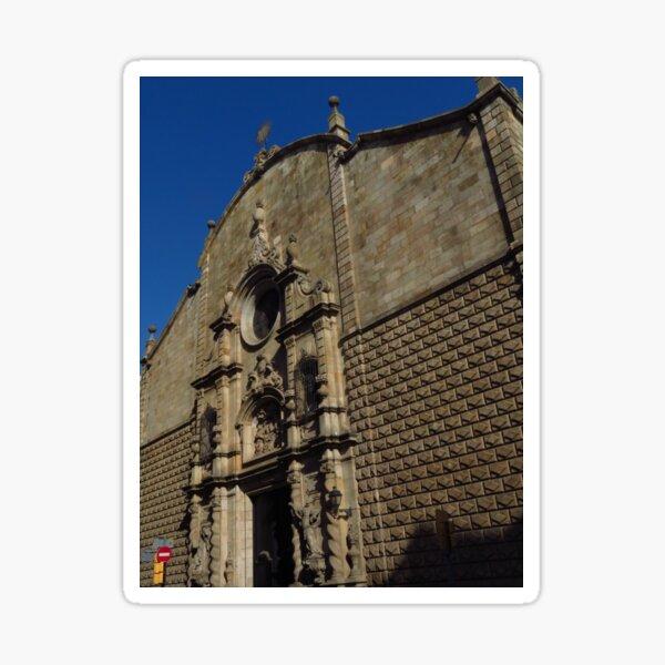 Esglesia de Betlem, La Rambla, Barcelona Sticker