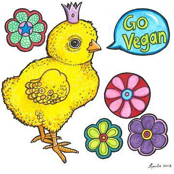 Vegan Chick by LyndaBell