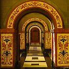 Esglesia de Betlem; Interior Arches by wiggyofipswich
