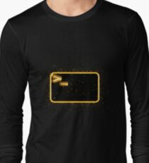Bash terminal golden Gold Long Sleeve T-Shirt