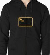 Bash terminal golden Gold Zipped Hoodie