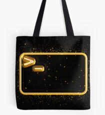 Bash terminal golden Gold Tote Bag