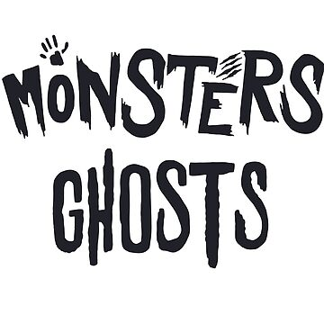 Monsters Ghosts- Halloween Boo-Halloween-6o'sHalloween by Girlscollar