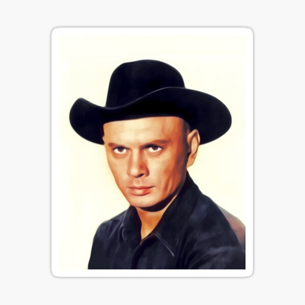 Yul Brynner, Hollywood Legend Sticker