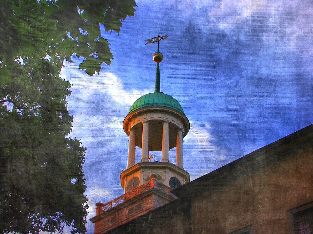 Church steeple..... by DaveHrusecky