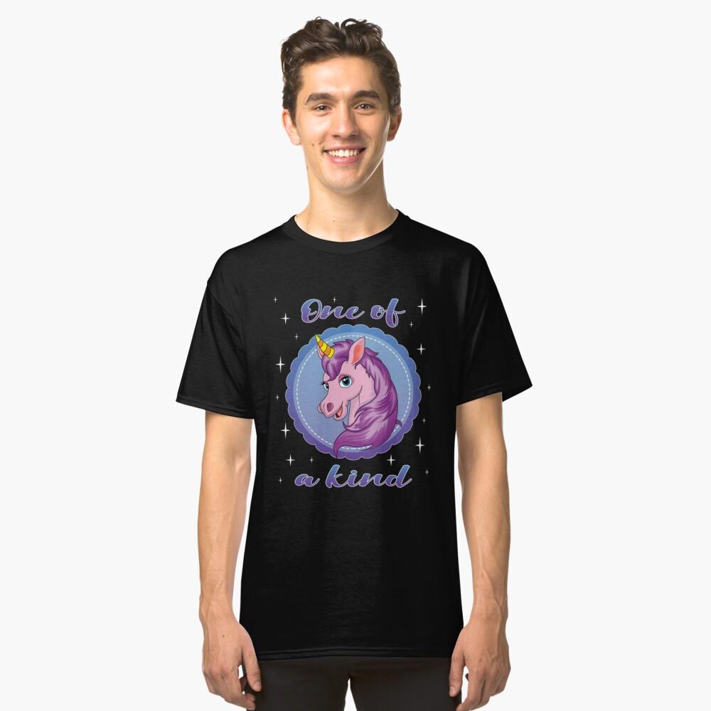 Cool Unicorn Shirt - Cute Funny Unicorn Design Classic T-Shirt Front