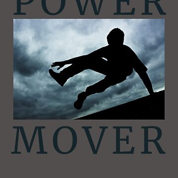 Parkour T shirt Power Mover Tee by Zavola