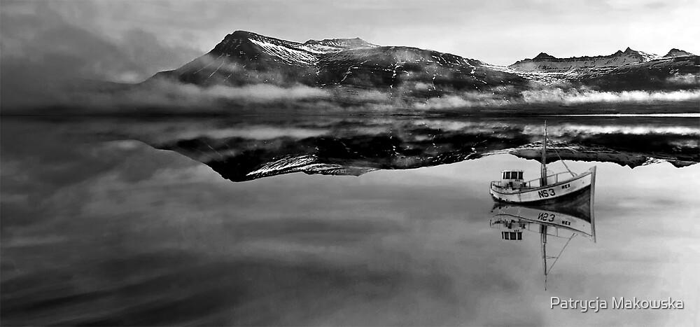 Iceland - Calm before the storm by Patrycja Makowska