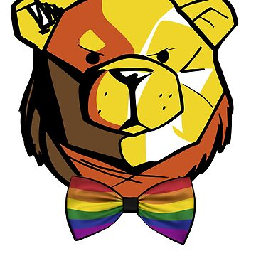 ROBUST BEAR BOW TIE LGBT BANDS by Robust