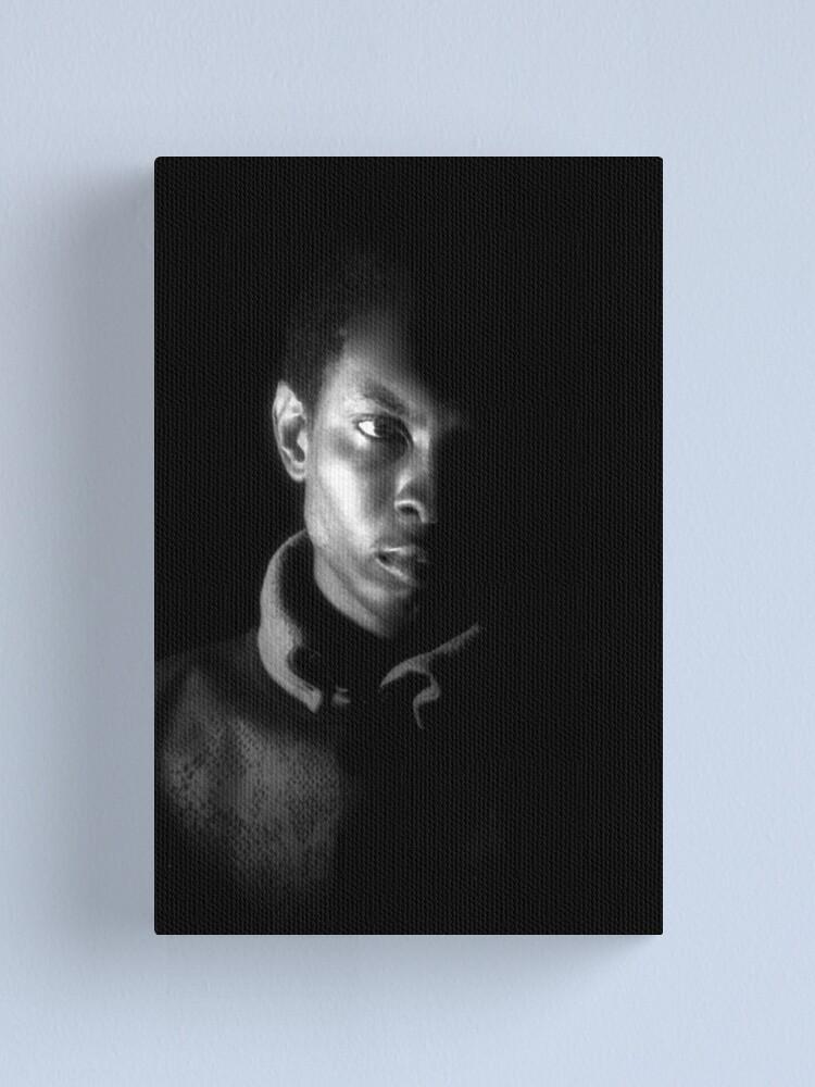 Alternate view of Self Portrait Canvas Print