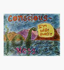 Conscious Ness Photographic Print