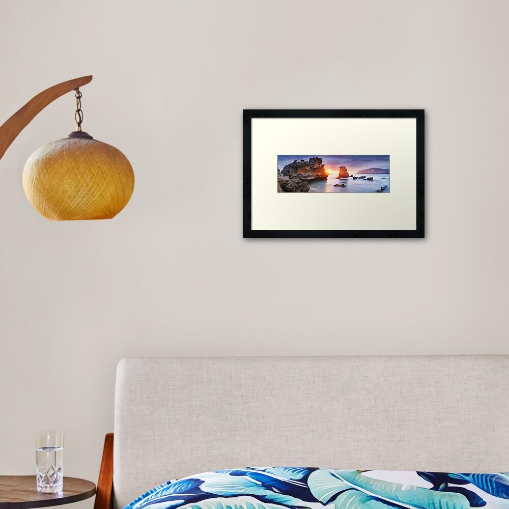 Bridgewater Bay, Mornington Peninsula, Victoria, Australia Framed Art Print