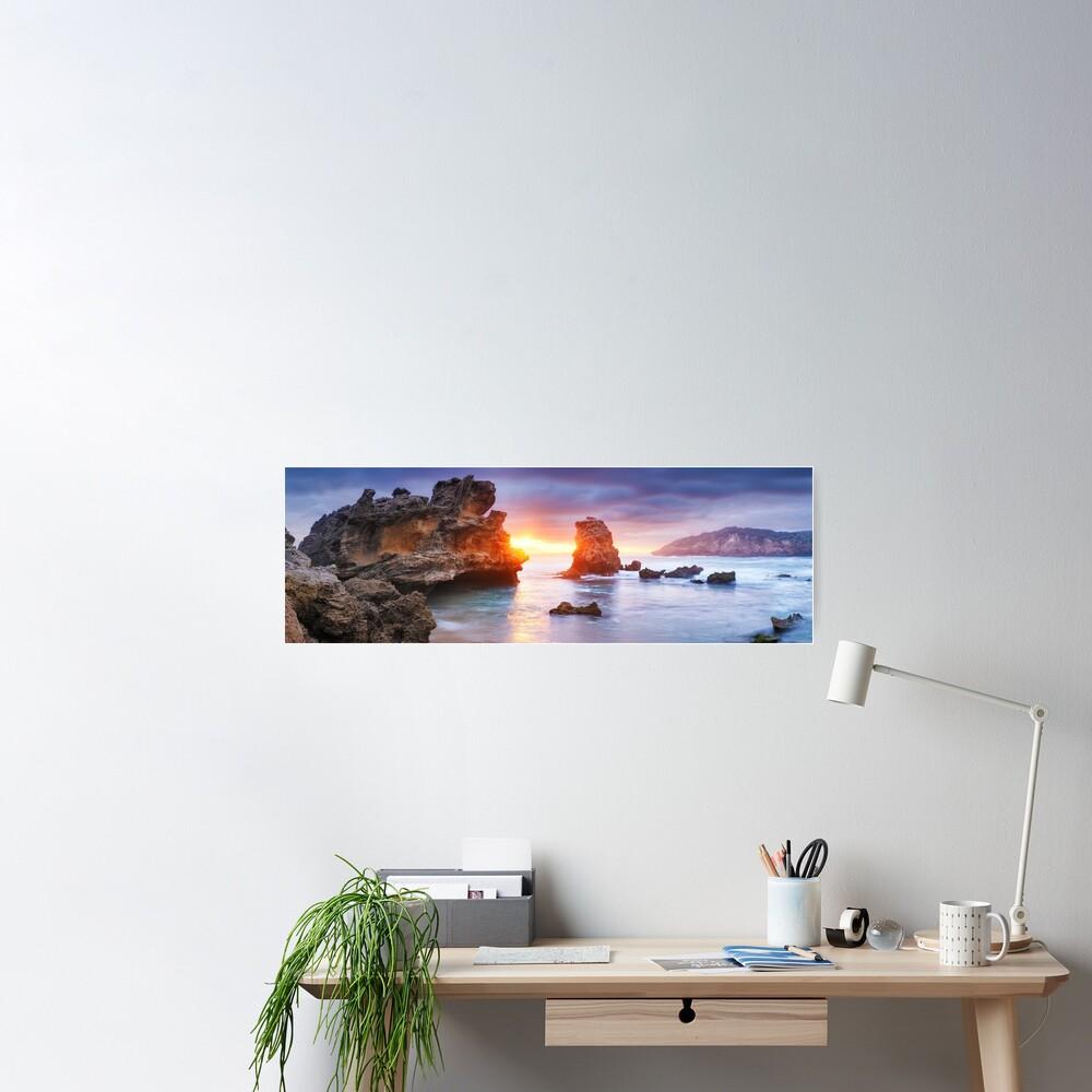 Bridgewater Bay, Mornington Peninsula, Victoria, Australia Poster