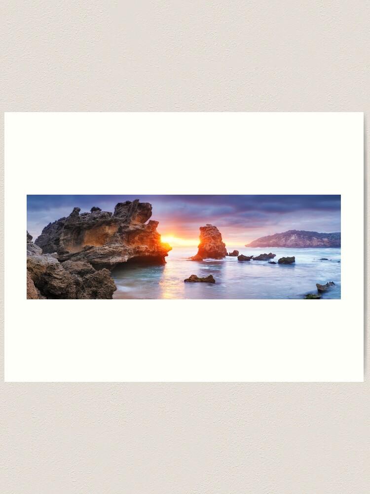 Alternate view of Bridgewater Bay, Mornington Peninsula, Victoria, Australia Art Print